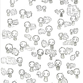 Beans! by Natasha Rupert - Drawing All Drawing ( pencil, bean, comic, happy, cute, drawing )