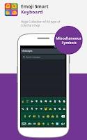 Screenshot of Emoji Smart Keyboard