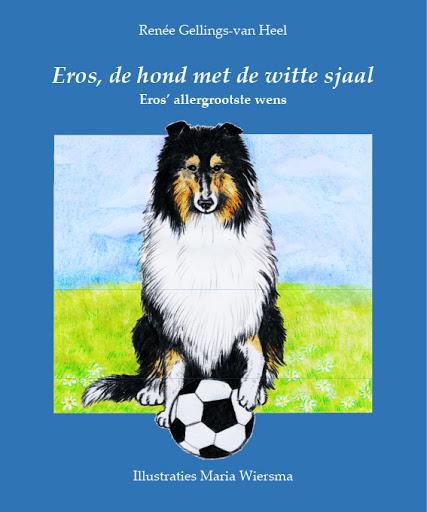 Eros, de hond met de witte sjaal