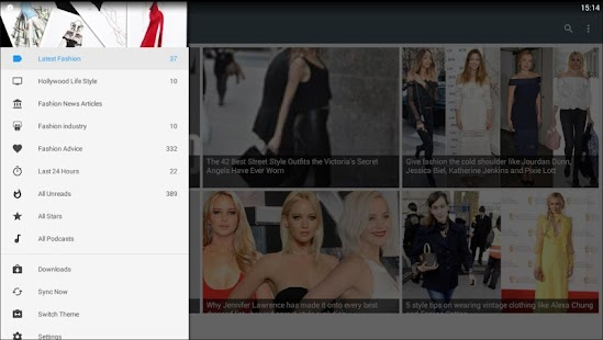 Fashion News Global industry - screenshot