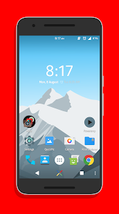 Simple Red CM13/12/12.1 Theme - screenshot