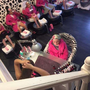 Salon pamper parties for kids