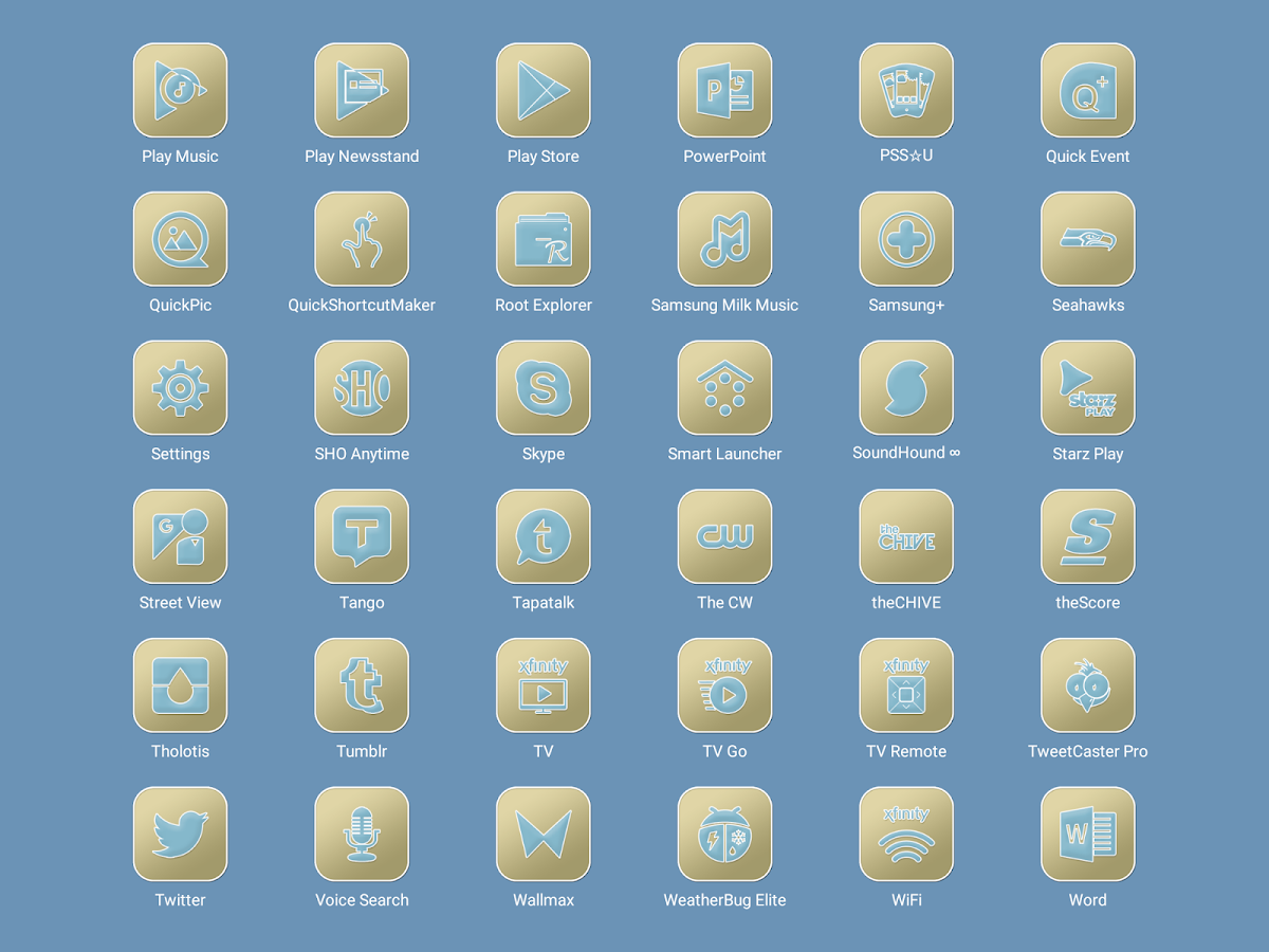 Pastel Collection 6 Icon Pack Screenshot 12