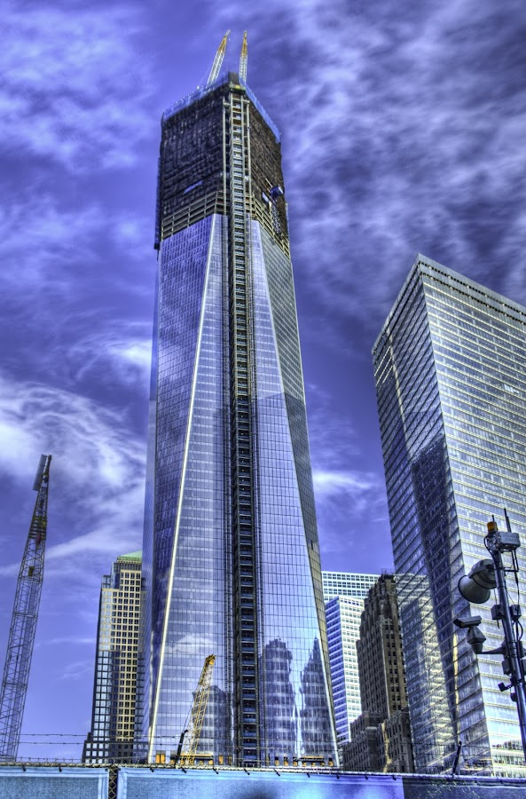WTC tower construction by JJ Richards - Landscapes Travel ( wtc, 2012, nyc, ny )