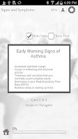 Screenshot of Asthma 101 by GoLearningBus
