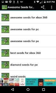 Awesome Seeds for Minecraft - screenshot