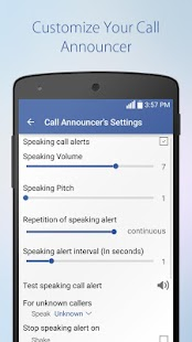SMS & Call Announcer Pro- screenshot thumbnail