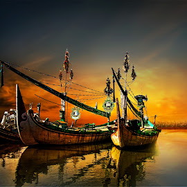 by Abhirama Arro - Transportation Boats