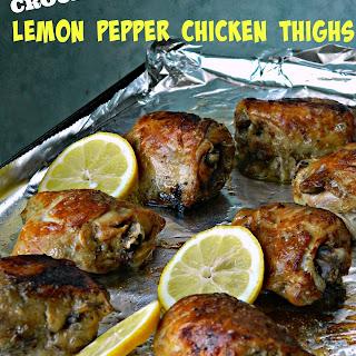 Lemon Pepper Chicken Thighs Crock Pot Recipes