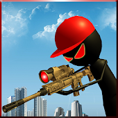 Game Angry Stick Sniper Gun Shooter APK for Kindle