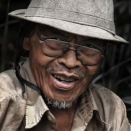 by Wartono Wartono - People Portraits of Men