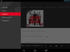 Screenshot of NRJ Radio