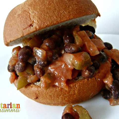 Creamy Vegetarian Sloppy Joes with Black Beans – #glutenfree