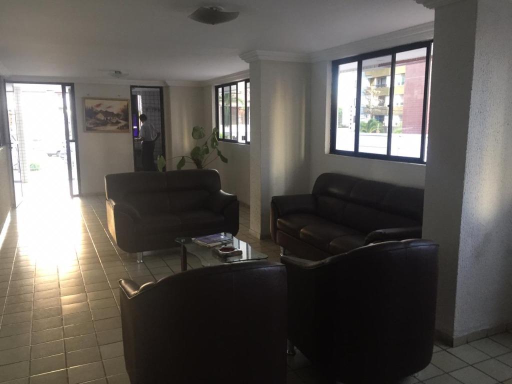 Apartamento com 2 dormitórios para alugar, 70 m² por R$ 1.000/mês - Manaíra - João Pessoa/PB