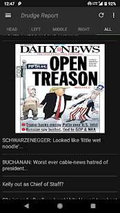 Drudge Report & Liberty Daily - Conservative News