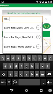 FareGuru: Fare Calculator - screenshot