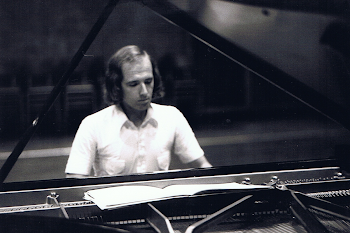 Brent Town Hall During Recordings of Tippett Piano Sonatas, 1973