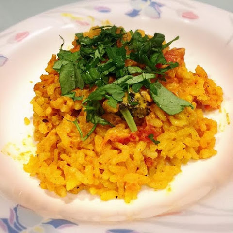 Rice Cooker Curry Risotto