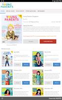 Screenshot of Young Parents Singapore