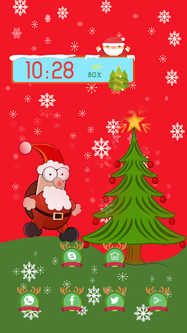 android The Funny Santa Claus Screenshot 0