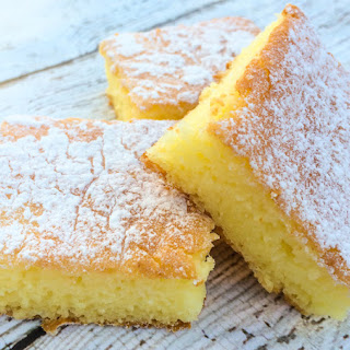Lemon Bars With White Cake Mix And Lemon Pie Filling