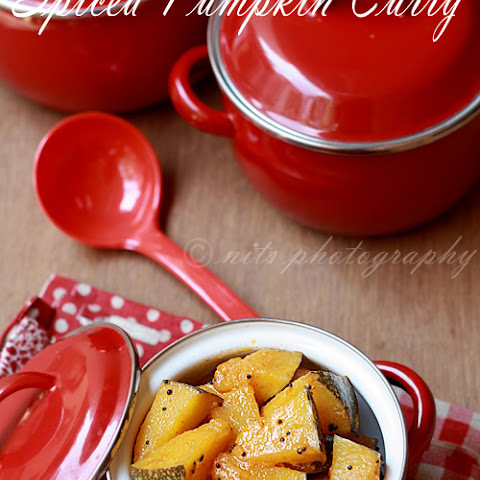 Spiced Pumpkin Curry