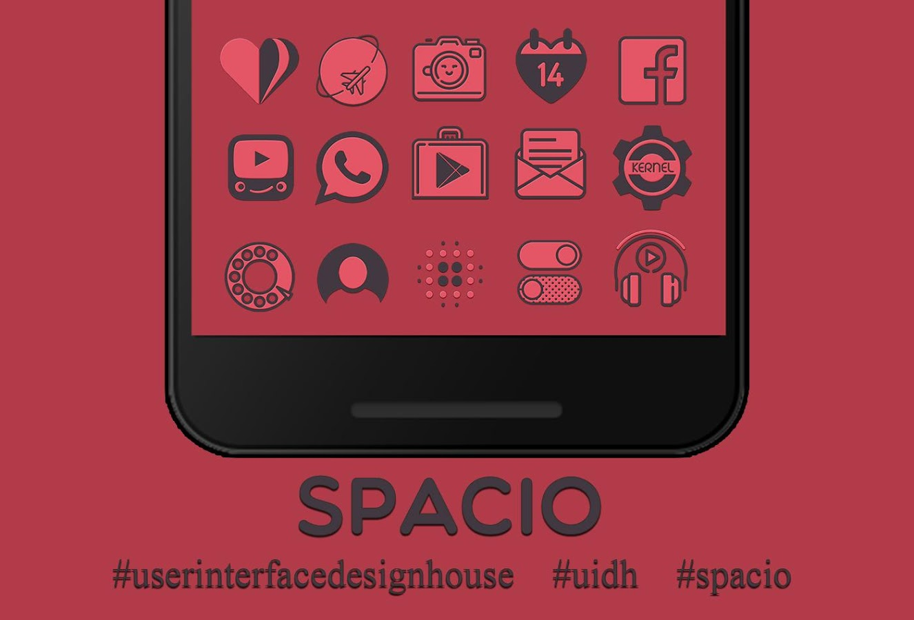 Spacio Icon Pack Screenshot 0