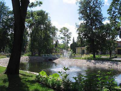 Бернардинский парк в Вильнюсе