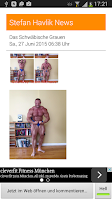 Screenshot of Bodybuilding Szene Reader