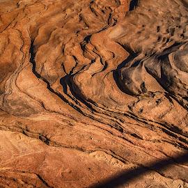 Rock Floe by Richard Michael Lingo - Nature Up Close Rock & Stone ( water, wind, lake powell, nature, arizona, rock )
