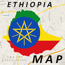 Ethiopia Addis Ababa Map