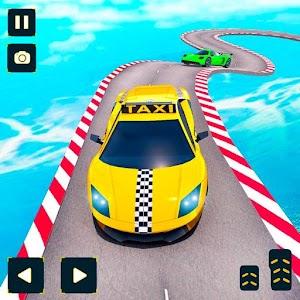 Taxi Car Stunts Games: Ramp Car Impossible Tracks Online PC (Windows / MAC)