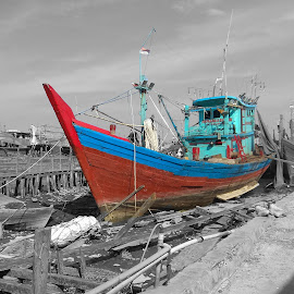 Sailing by Evan Septian - Transportation Boats ( #medan #belawan #evan )