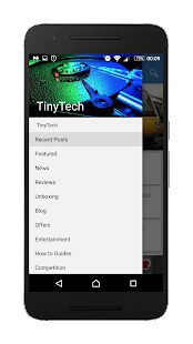 TinyTech - Tech News & Reviews - screenshot