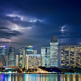 Thor must be angry! by Tim Teo - Landscapes Weather