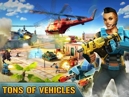Blitz Brigade - Online FPS fun APK for Bluestacks