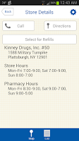 Screenshot of Kinney Drugs
