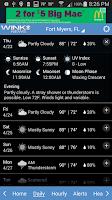 Screenshot of WINK Weather