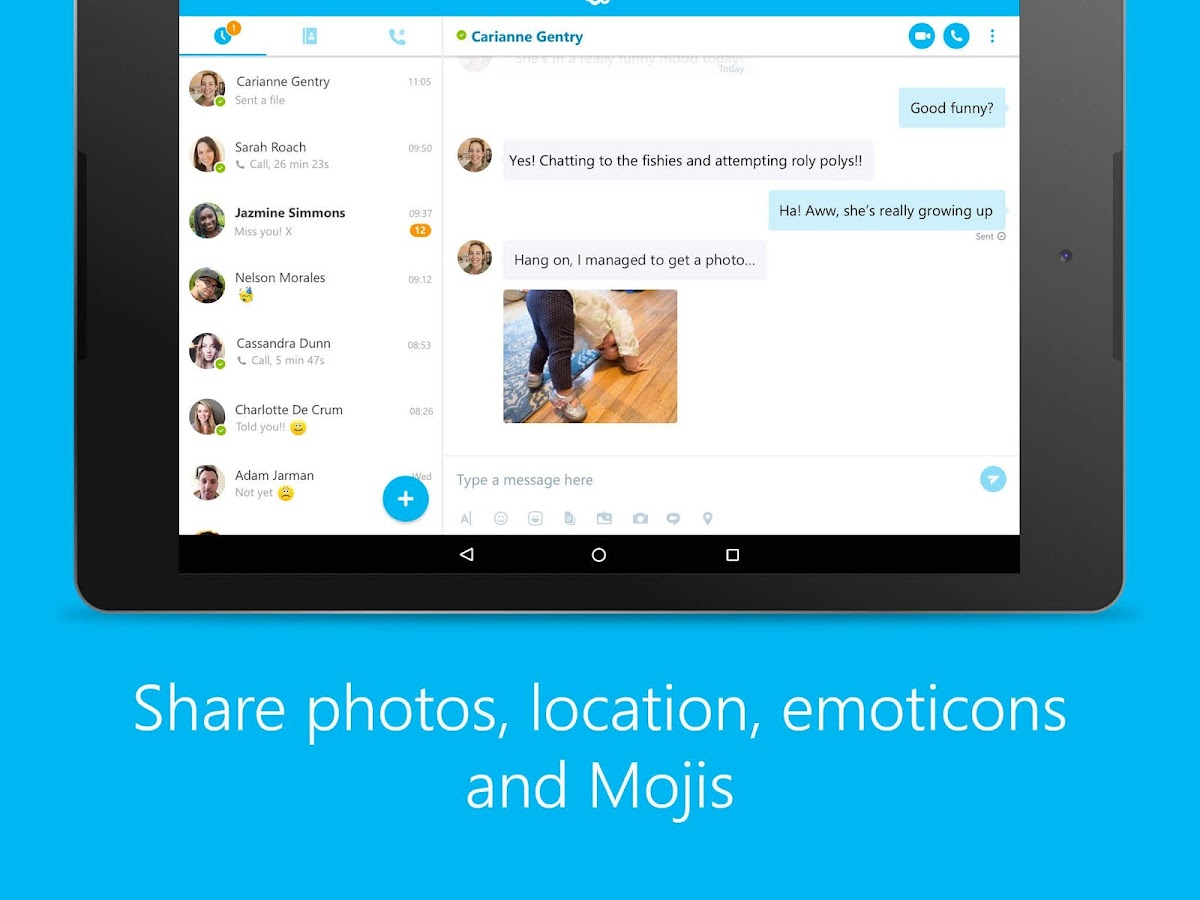 Skype - free IM & video calls Screenshot 6