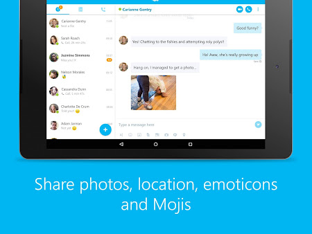 Skype - free IM & video calls 7.26.0.288 screenshot 576800