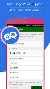 Caller Name Talker APK for Bluestacks