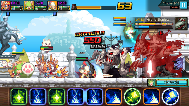 Crusaders Quest APK screenshot thumbnail 8