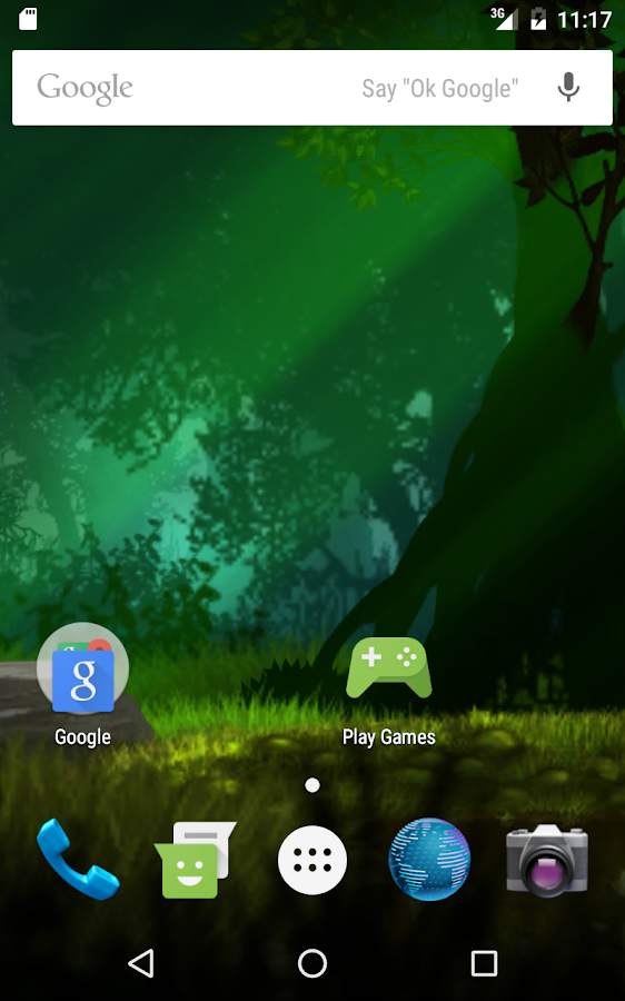 Magical forest live wallpaper Screenshot 7