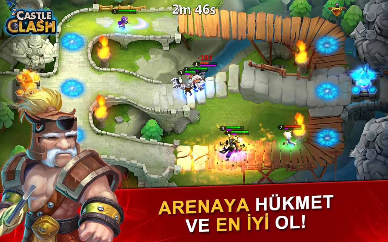 Castle Clash: Efsaneler Çağı Screenshot 3