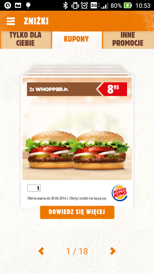 Burger King Polska Screenshot 1
