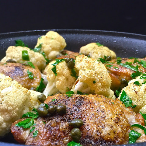 Chicken and Cauliflower Skillet