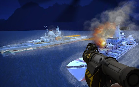 Navy Gunner X War apk screenshot