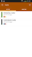 Screenshot of InCard MasterPass™