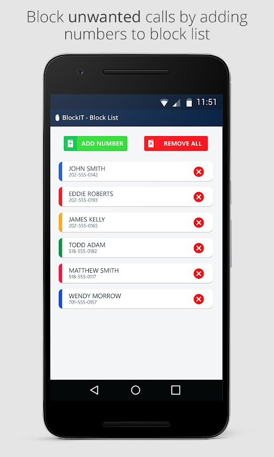 BlockIT PRO - Call Blocker Screenshot 1