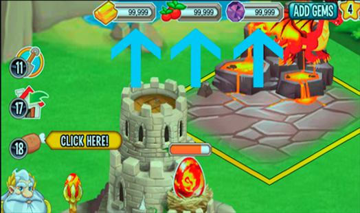 FREE Gems Dragon City Prank APK for Bluestacks